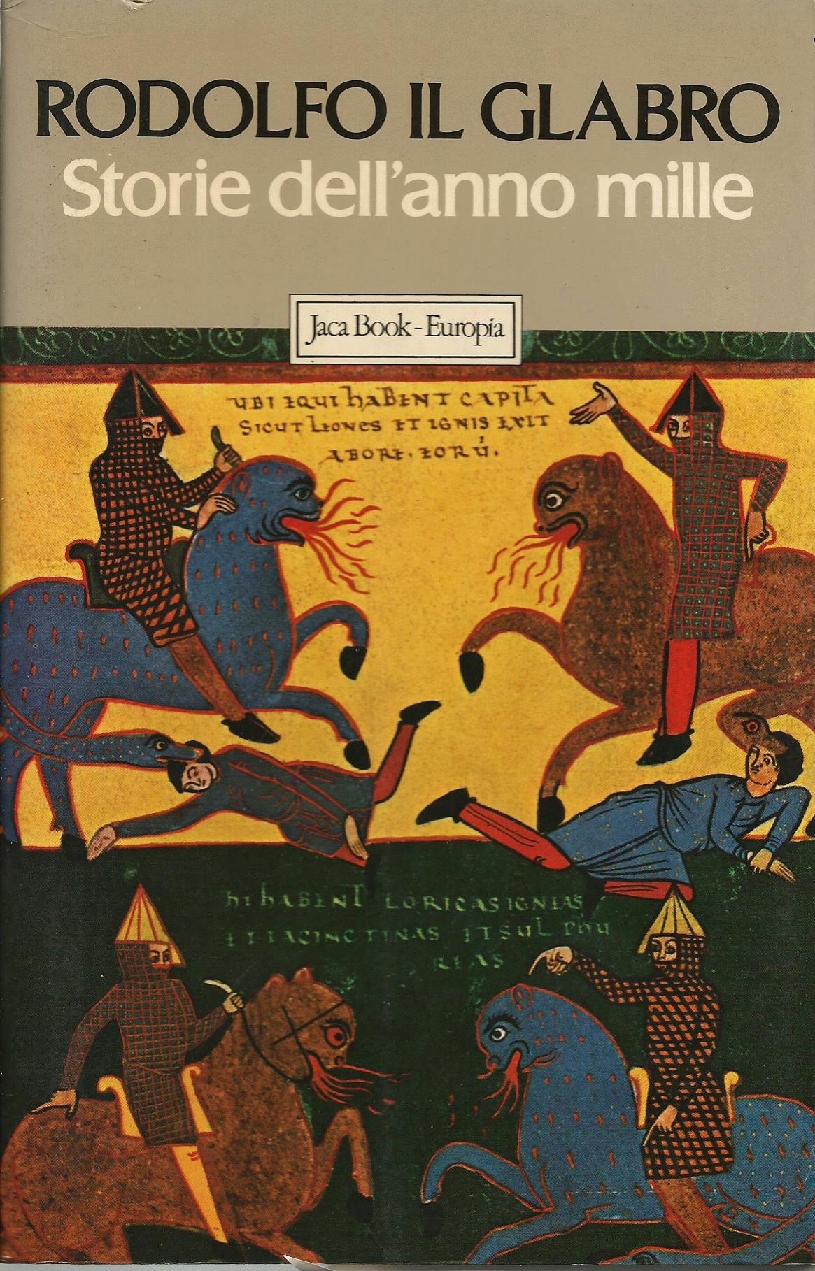 Risultati immagini per Rodolfo il Glabro, monaco di Cluny