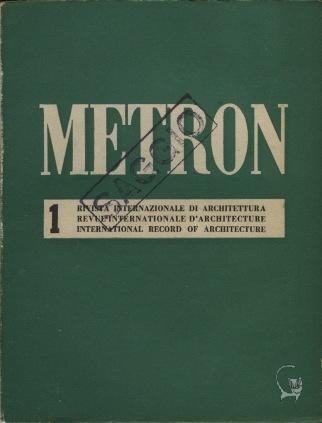 Metron. Rivista internazionale di architettura